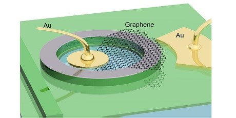 Graphene based electro-absorption modulator