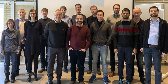 LOWCOST-IC project partners at the kick-off meeting at DTU Energy in January 2019